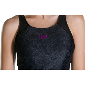 speedo Boom Allover Tankini Women Black/Oxid Grey
